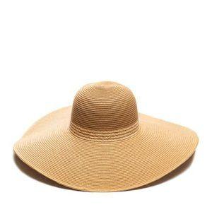 August Hat Oversized Floppy Raffia Hat in natural